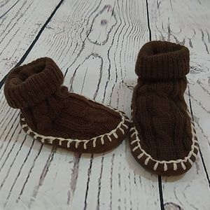 🍫Sweater-Knit Booty Slippers